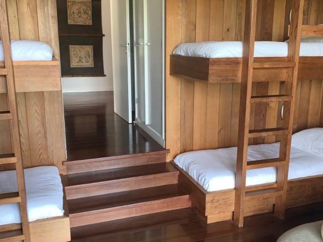 dortoir 4 lits simples